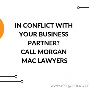 In conflict with your business partner?