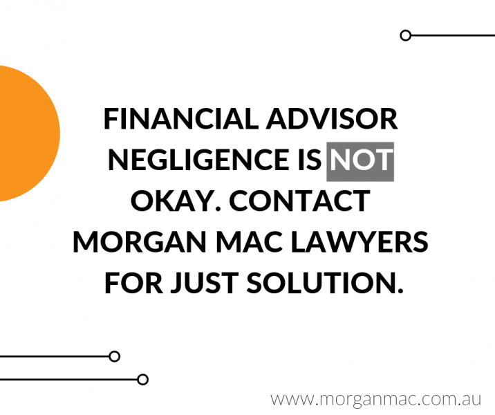 financial advisor negligence