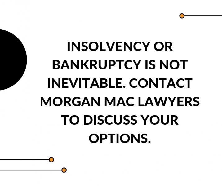 Morgan Mac Lawyers - bankruptcy