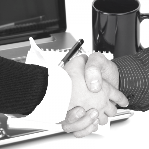 Morgan Mac Lawyers - handshake