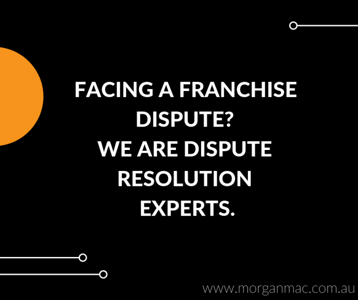 Morgan Mac Lawyers - franchise dispute