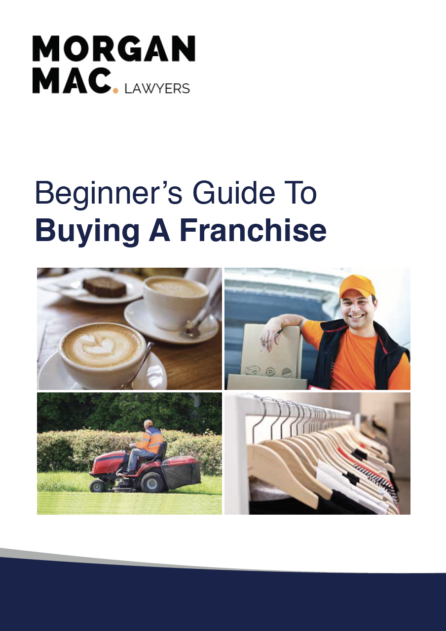 beginners guide to buying a franchise front cover